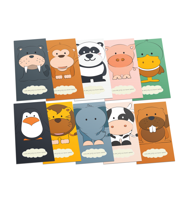 kinderopvang postcards pack