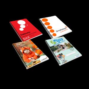 gepersonaliseerde kinderopvang gastouder boekjes