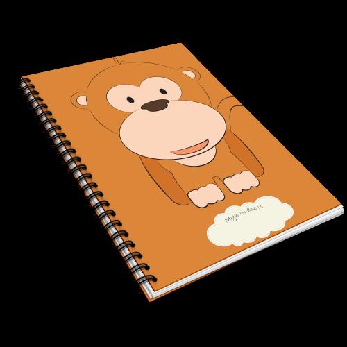 Kinderopvang dagboek aap