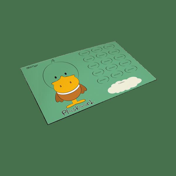Plaskaart Eend