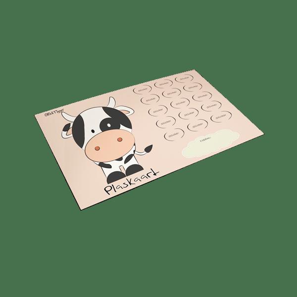 Plaskaart Koe