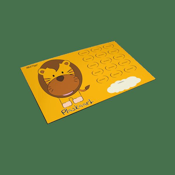Plaskaart Leeuw