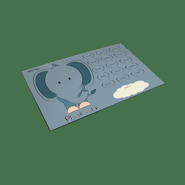 Plaskaart Olifant