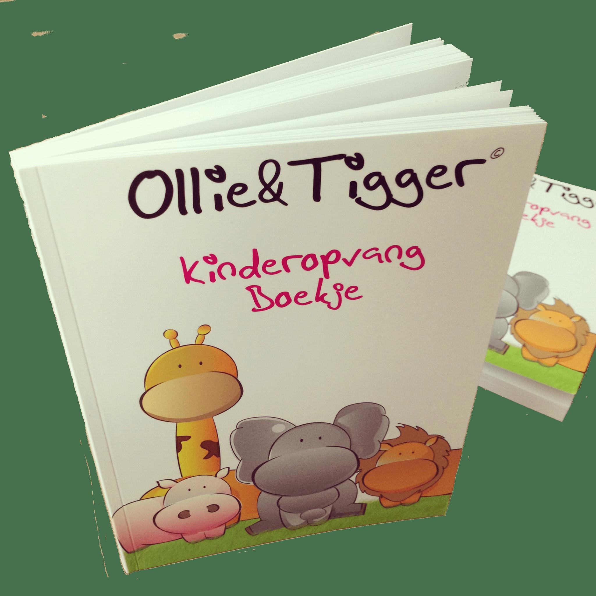 Ollie en Tigger Kinderdagverblijfboekje