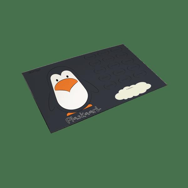 Plaskaart Pinguïn