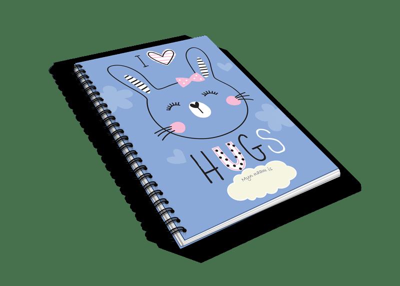 Hugs heen en weer oppas creche boekje