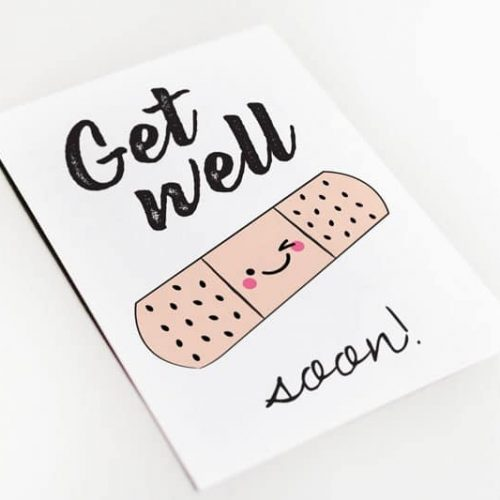 get well soon beterschapskaart